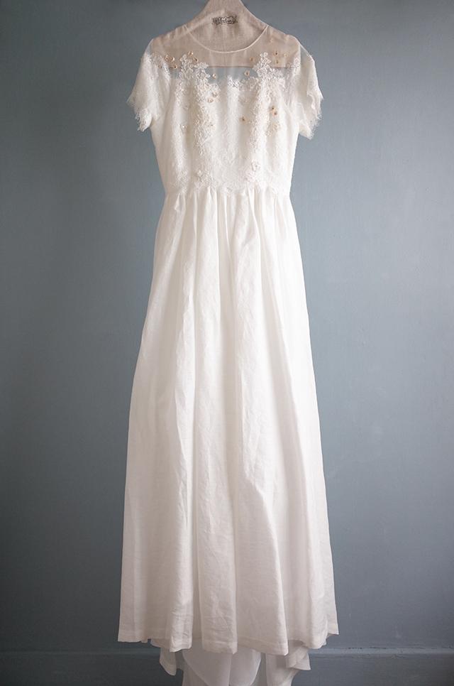 花とひかりのドレス